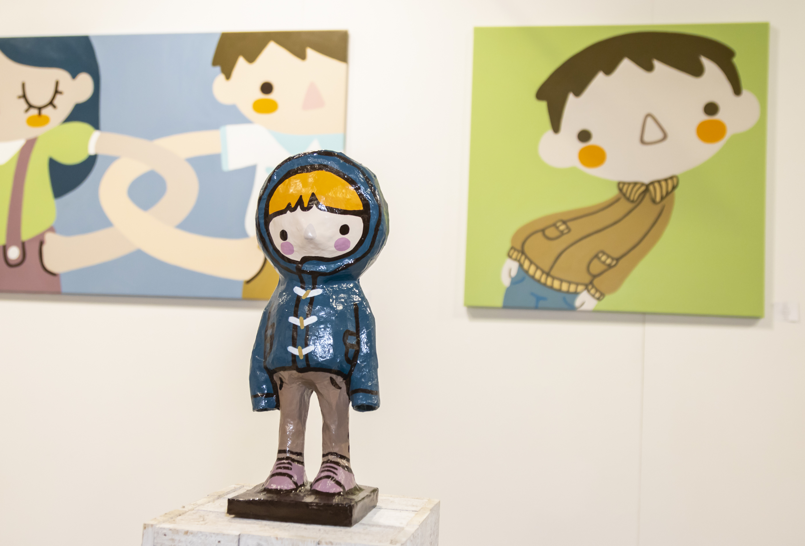 Ale Puro's work at Affordable Art Fair Milano