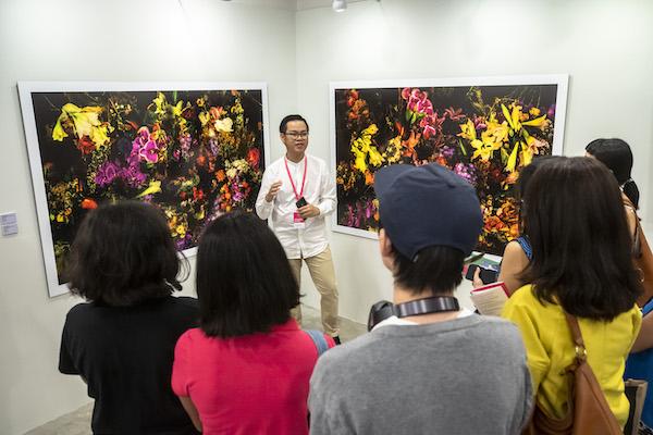 Young Artist Art Talk at Affordable Art Fair 2019
