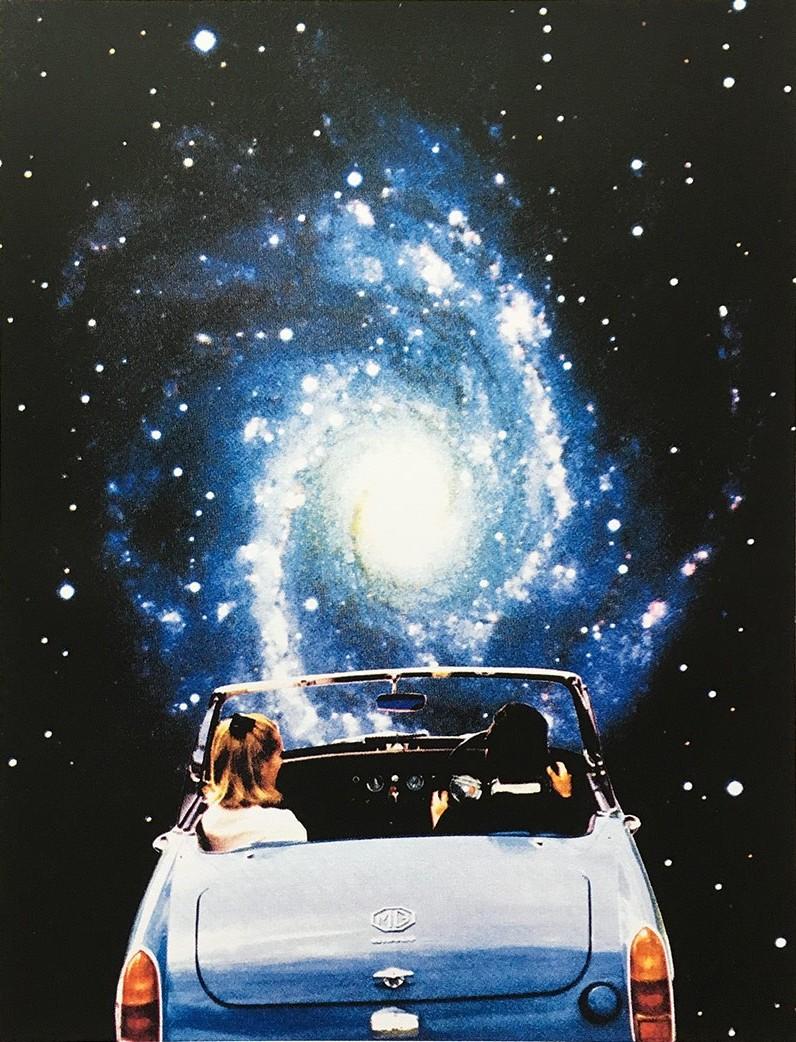 Joe Webb, Super Highway, 2017, £225, silkscreen print, Liberty Gallery