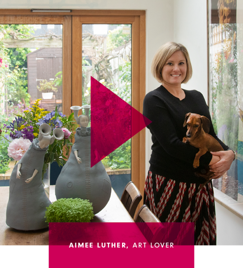 Meet art lover Aimee Luther