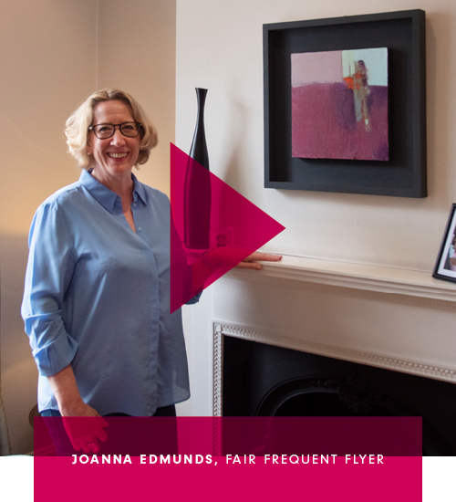 Meet art collector Joanna Edmunds