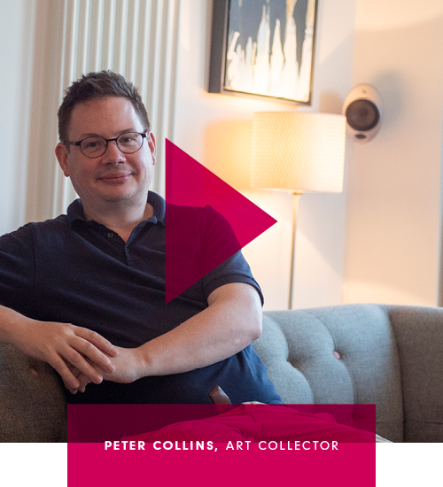 Meet experienced art buyer Peter Collins