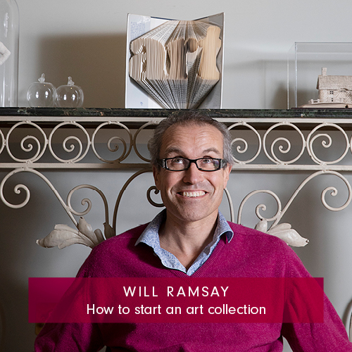Will Ramsay how to start an art collection