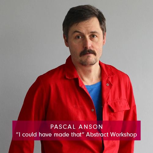 Pascal Anson abstract art workshop