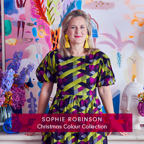 Sophie Robinson's Christmas Colour Collection