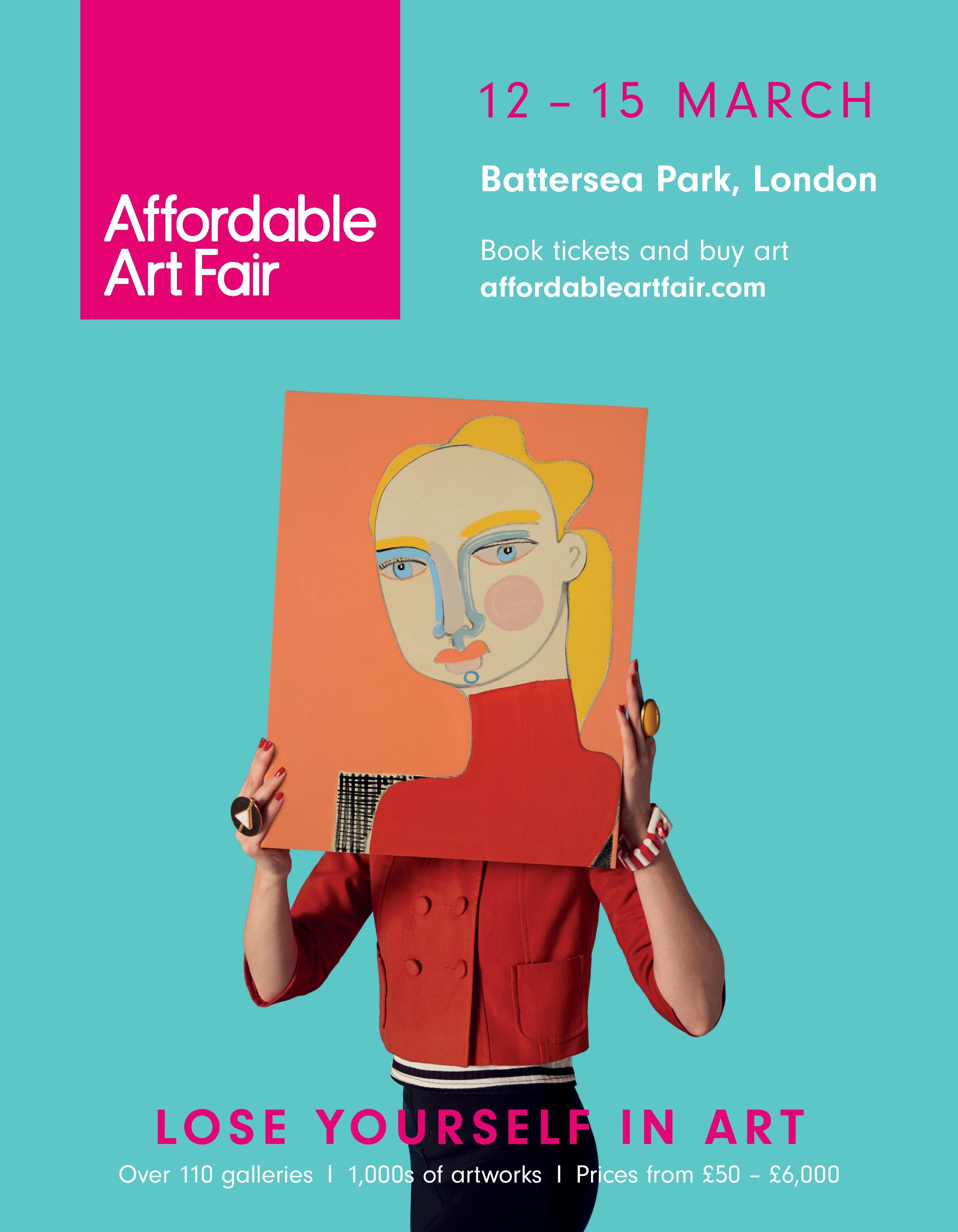 Affordable Art Fair New York fall, camapign image