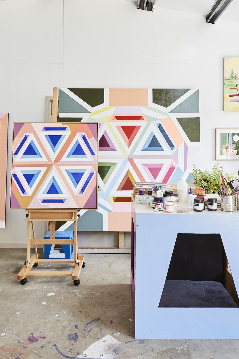 A peek inside Jasmine Mansbridge's studio