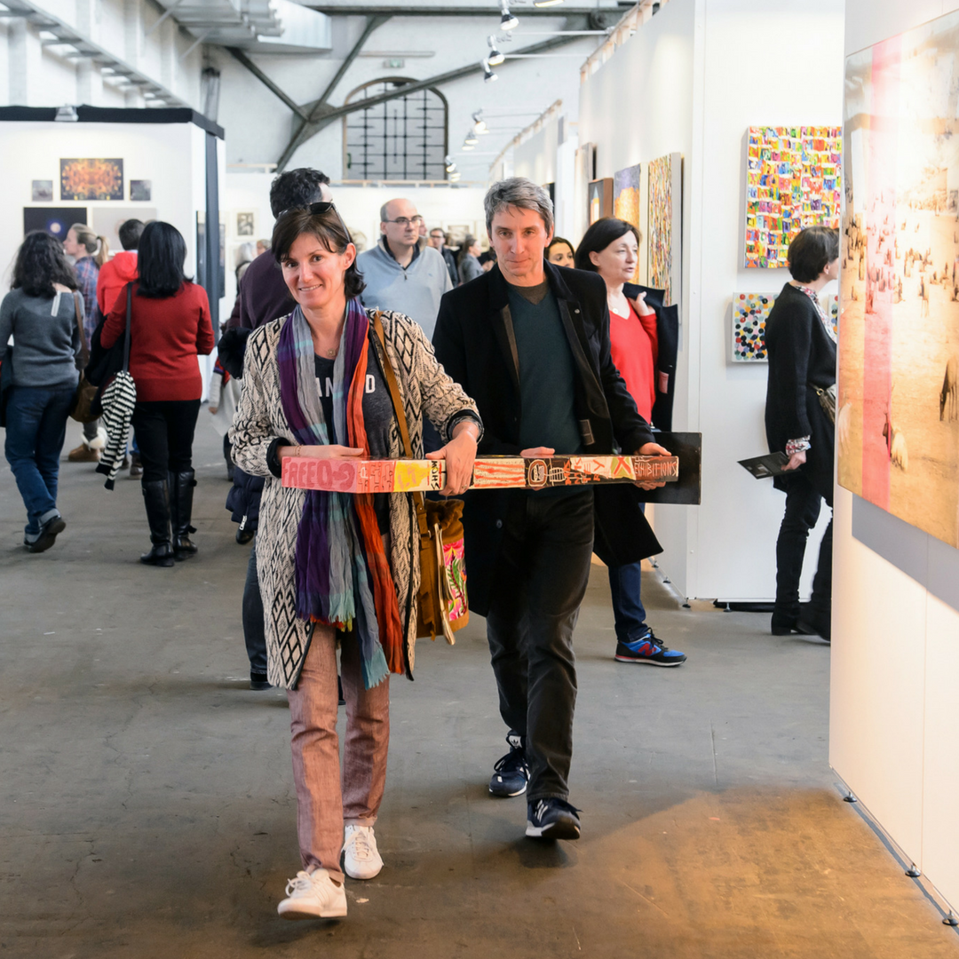 Affordable Art Fair Brussels 2016 buying art as a pair