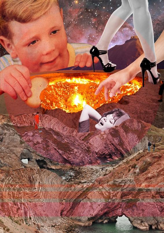 Alexandrea Gallagher, Cookie Dip, 2015, £1250, Mixed-Media, Degree Art