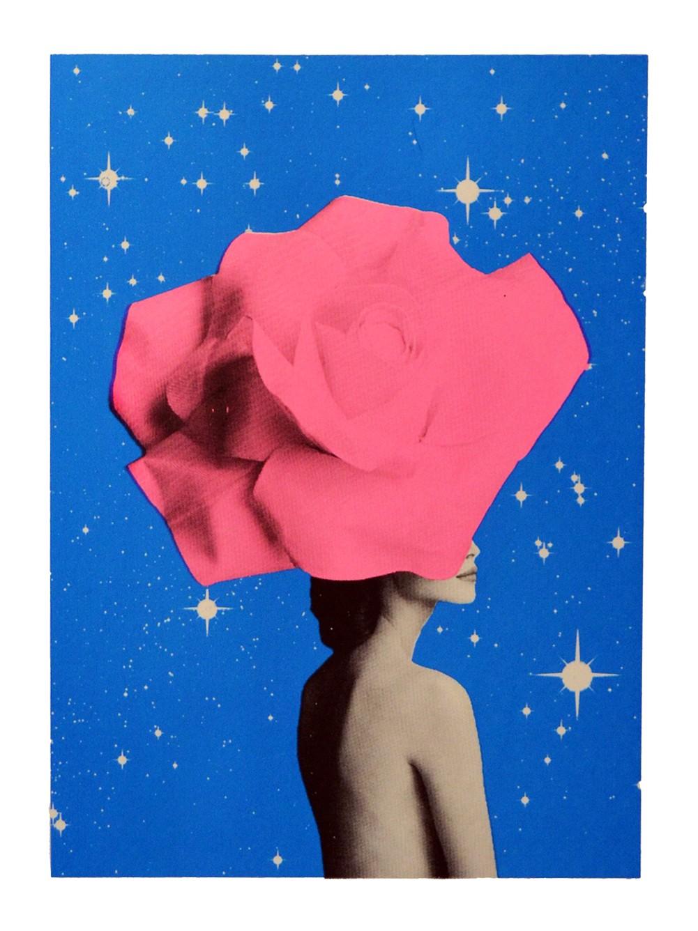 Anne Storno, The Secret Woman, 2017, silkscreen print, edition of 30, £160, ContemporArti