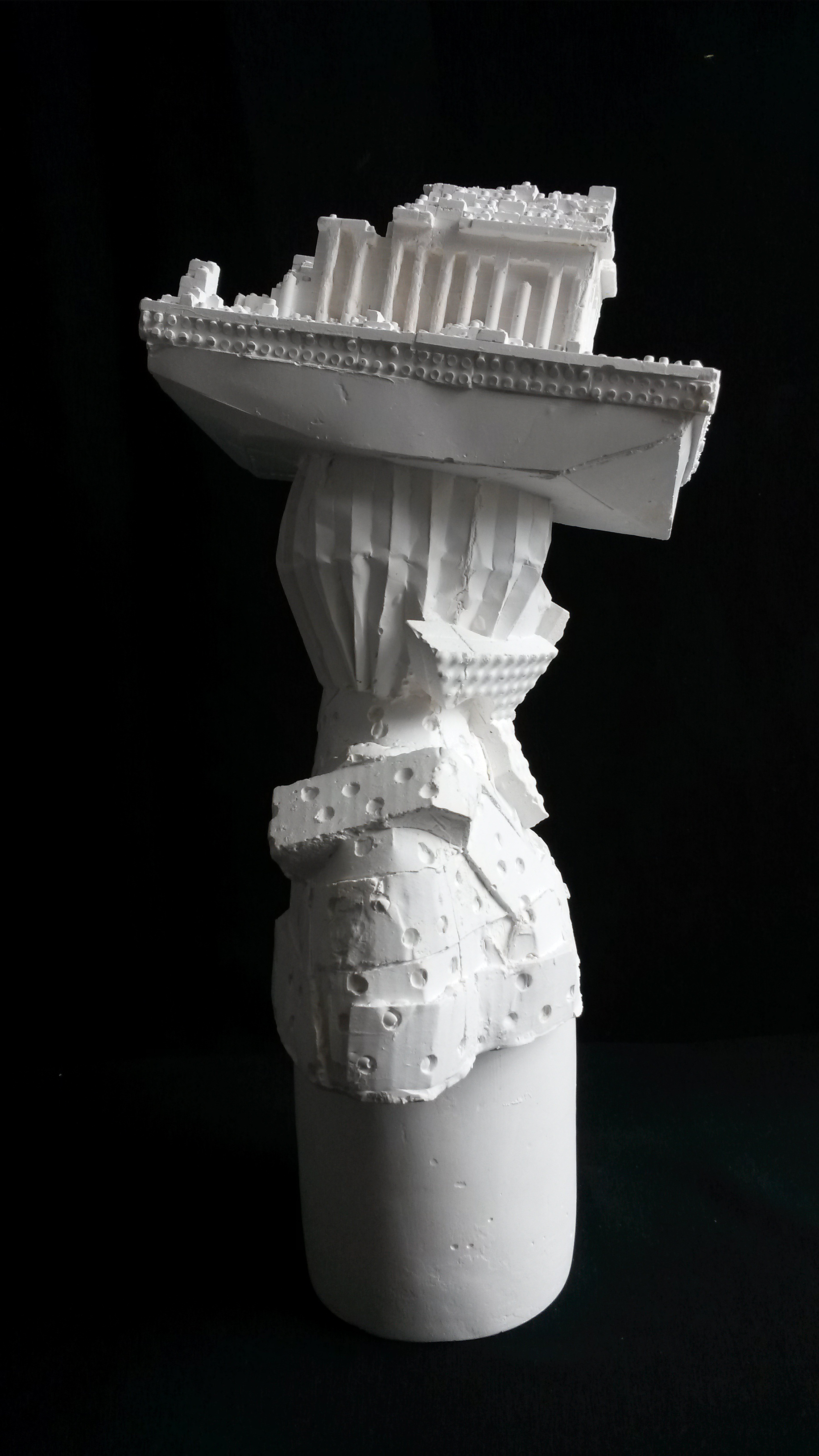 Kathy Dalwood, Archaeologist, Plaster, 34 x 20cm, open edition