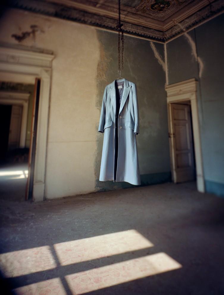 Barry Cawston, Coat Napoli, 2002, c-type, The Drugstore Gallery