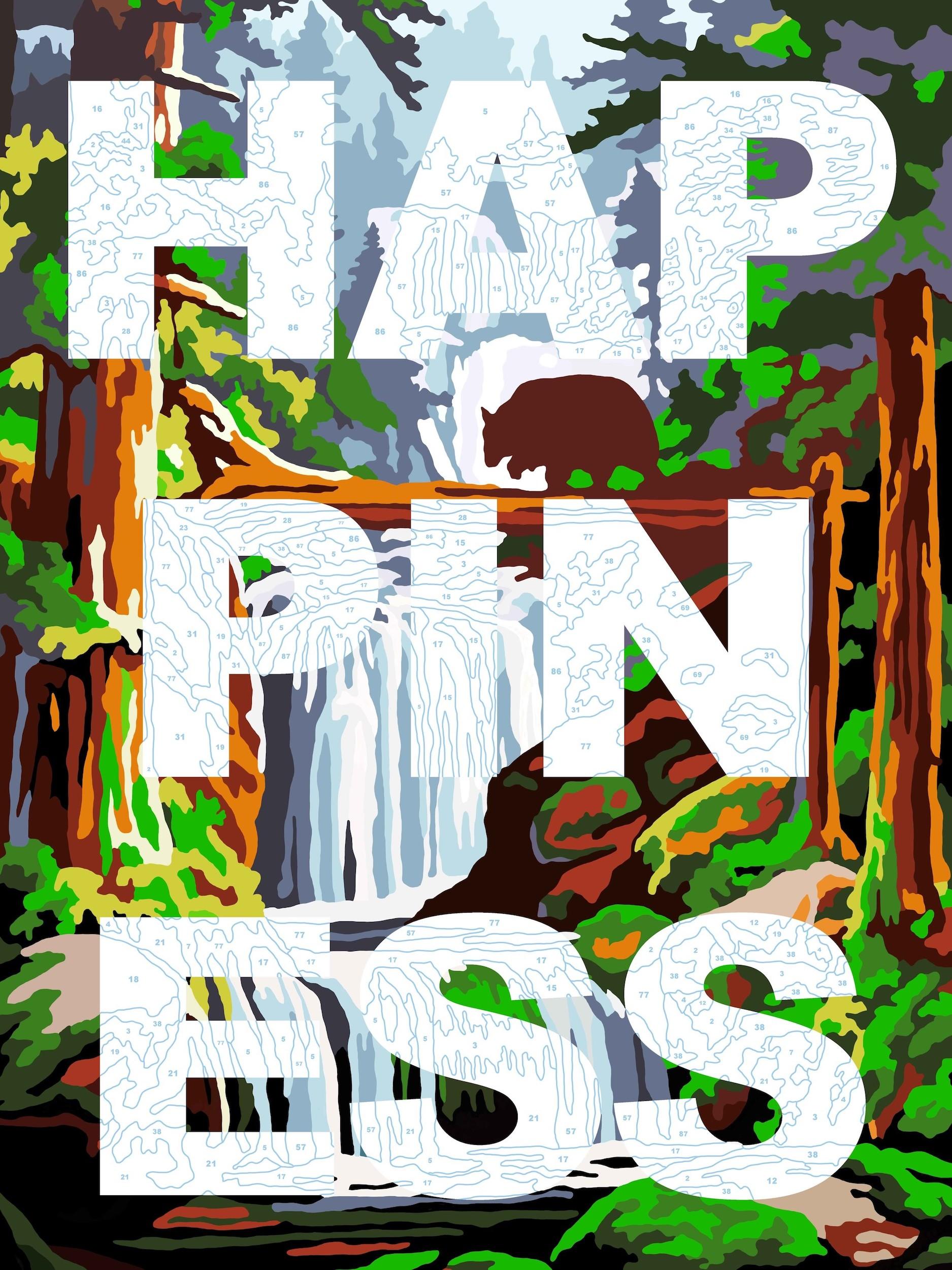 Benjamin Thomas Taylor, Happiness, 2017, £345, limited edition print, Liberty Gallery