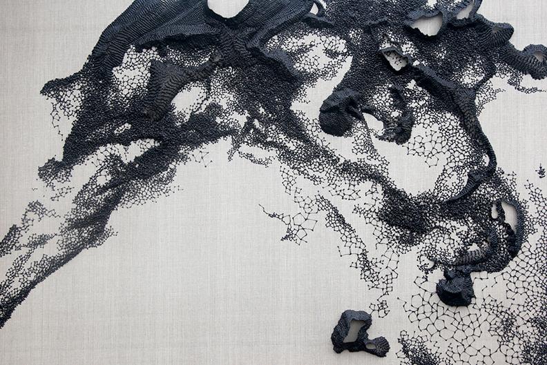 Black Mountain exhibition, Zhu Jing Yi, Karin Weber Gallery