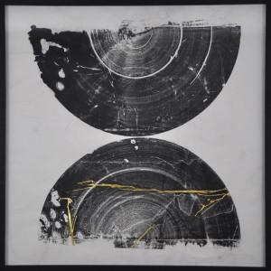 """Rod McIntosh's """"Never the Same"""" courtesy of Caiger Contemporary Art."""