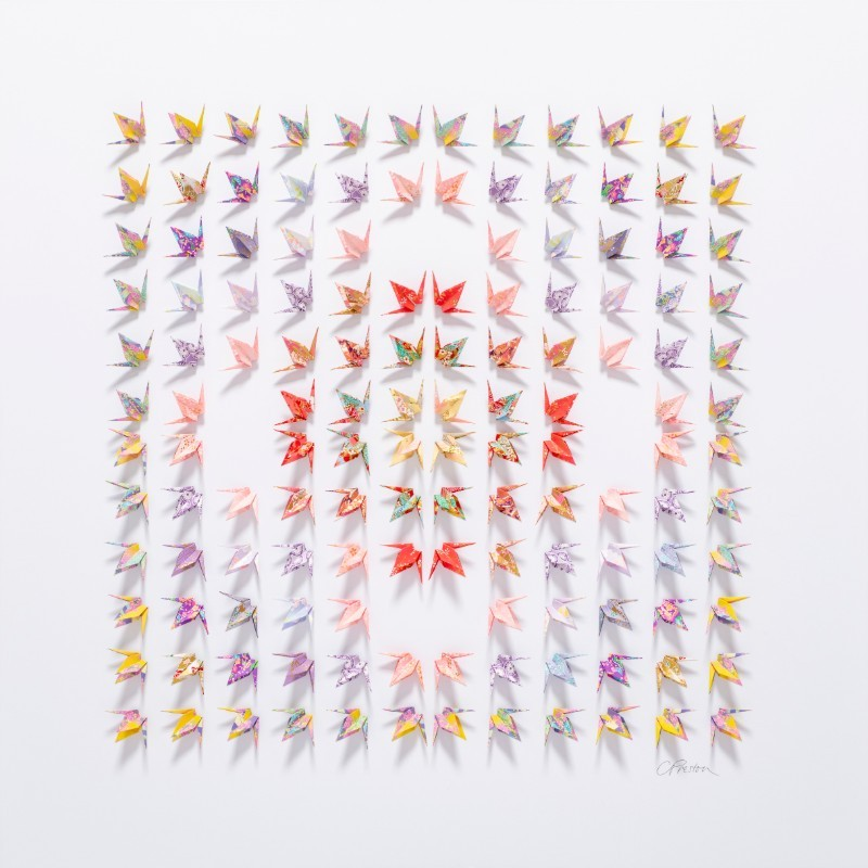 Caroline Preston, Blossom, 2020, £2250, paper, original, The Art Movement