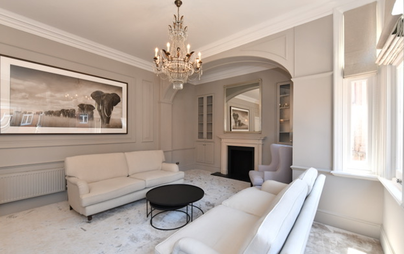 Classic Contemporary, Image courtesy of Josephine Cicero Interior Design