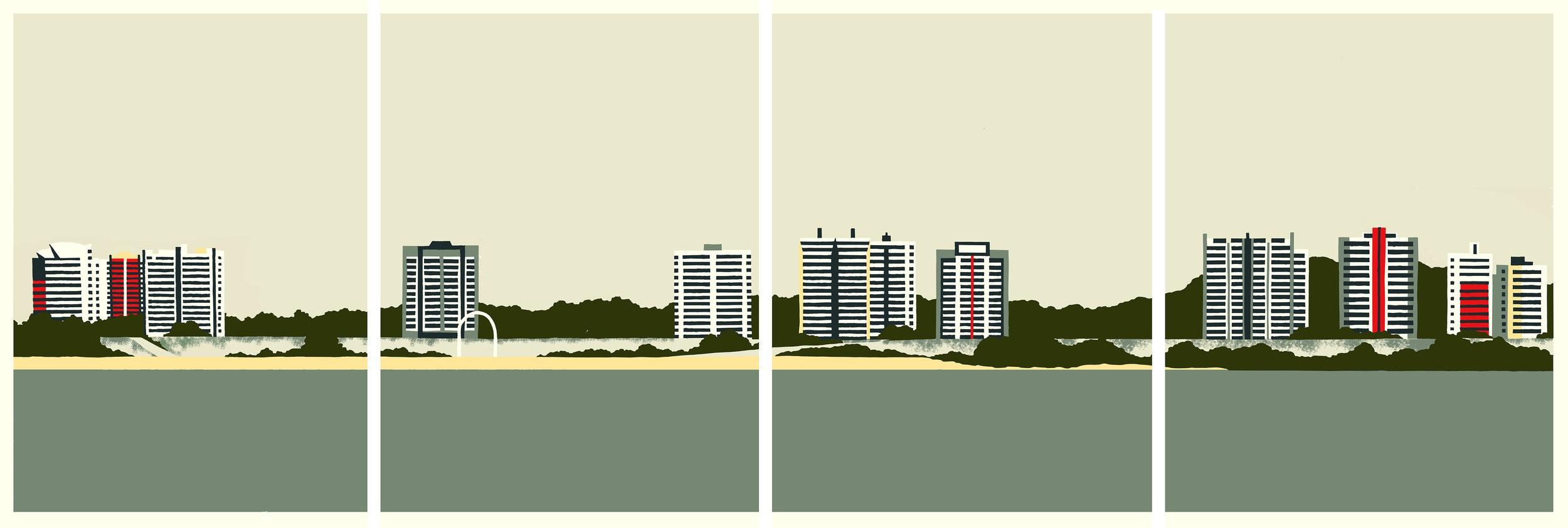 Eliza Southwood, Manaus Amazon River, 2019, £750, limited edition print, edition of 5, Wychwood Art