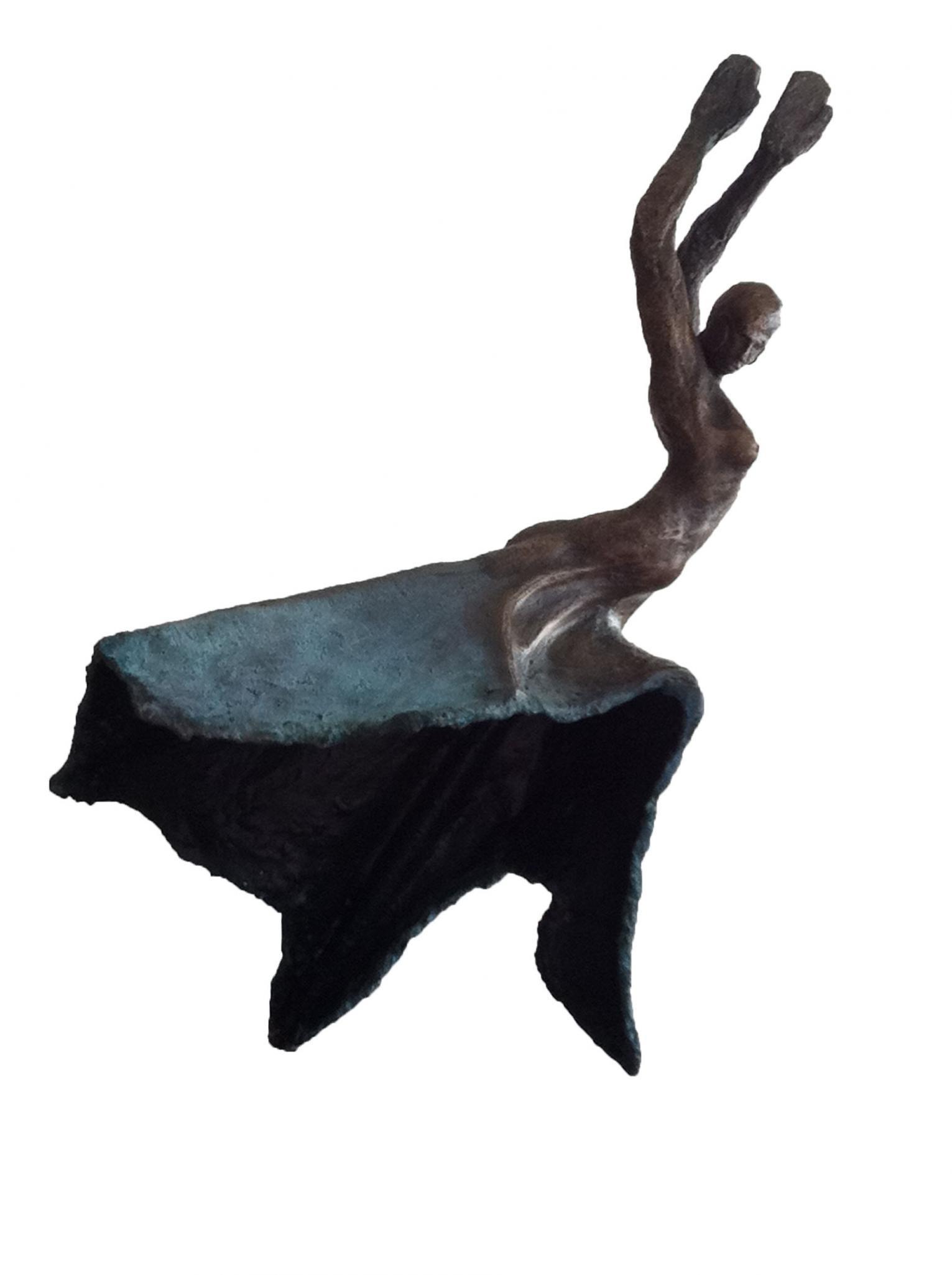 Emmanuel Okoro, INSPIRATION, 2011, £1500, bronze, original, Degree Art
