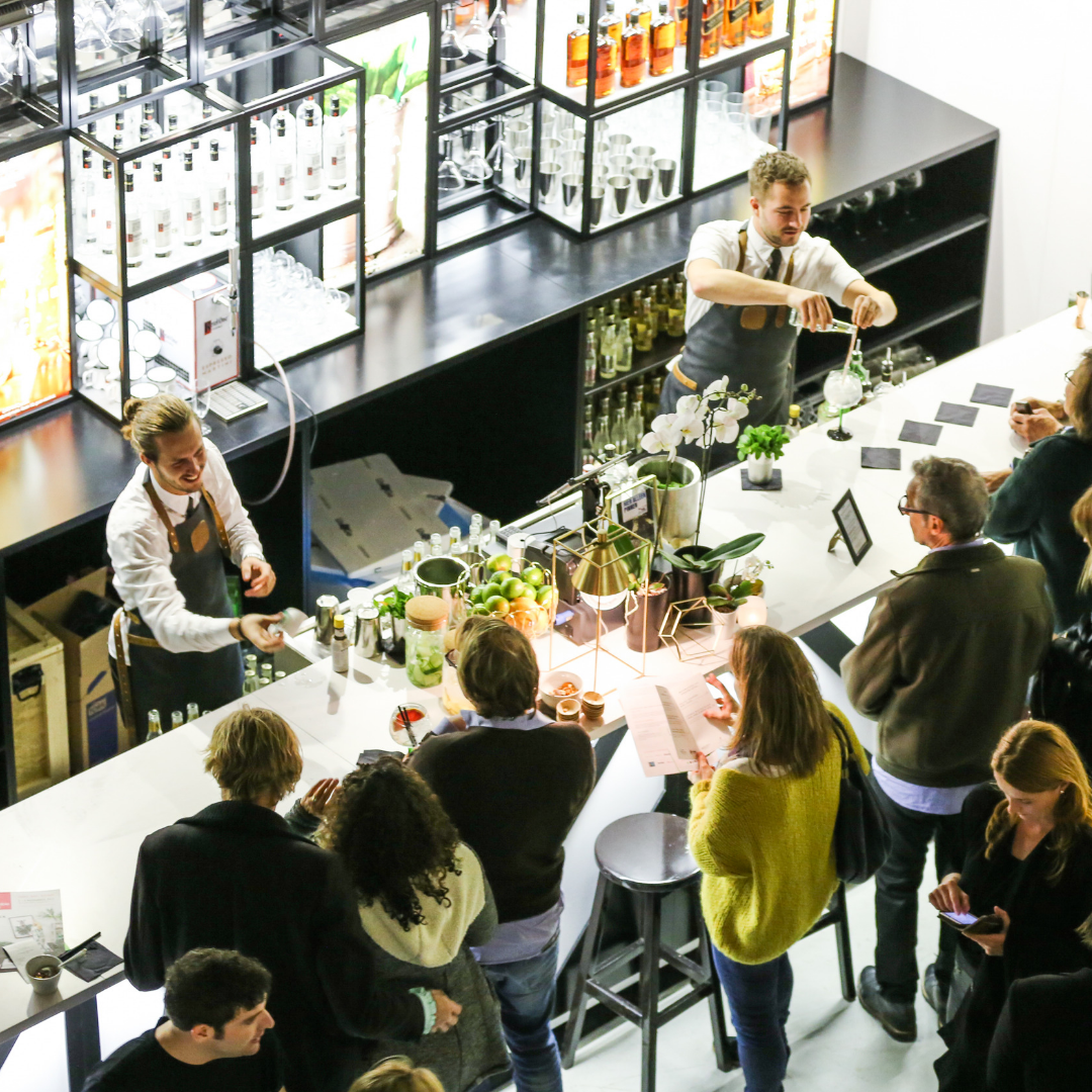 Delicious food and drink will be served at Affordable Art Fair Melbourne