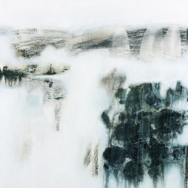 Gina Parr, Earthwork II, 2016, £1695, oil, original, David Lolly Gallery