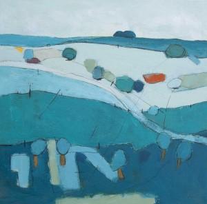 Hadfield Fine Art David OConnor Blue Hills