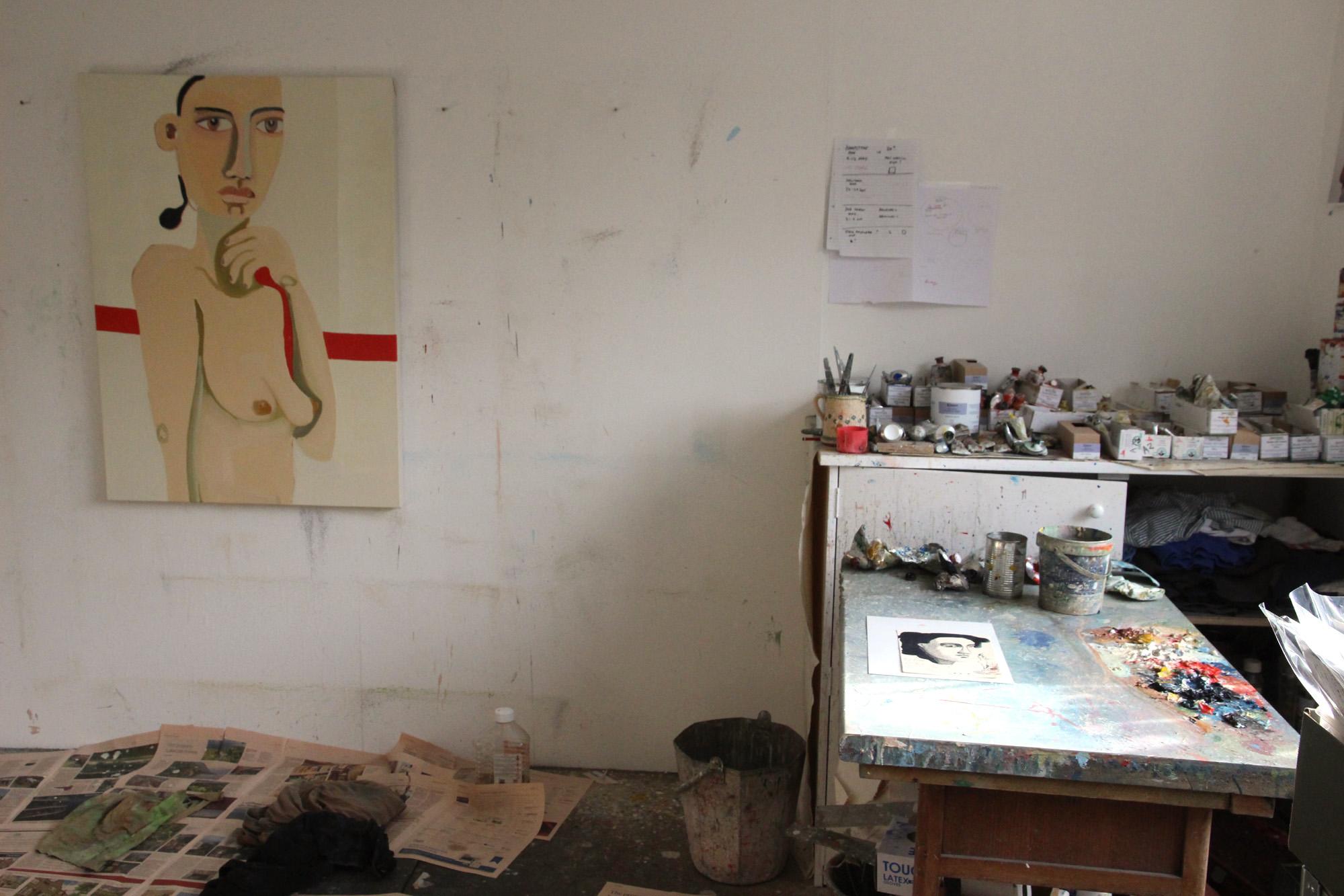 Henrietta Dubrey's studio