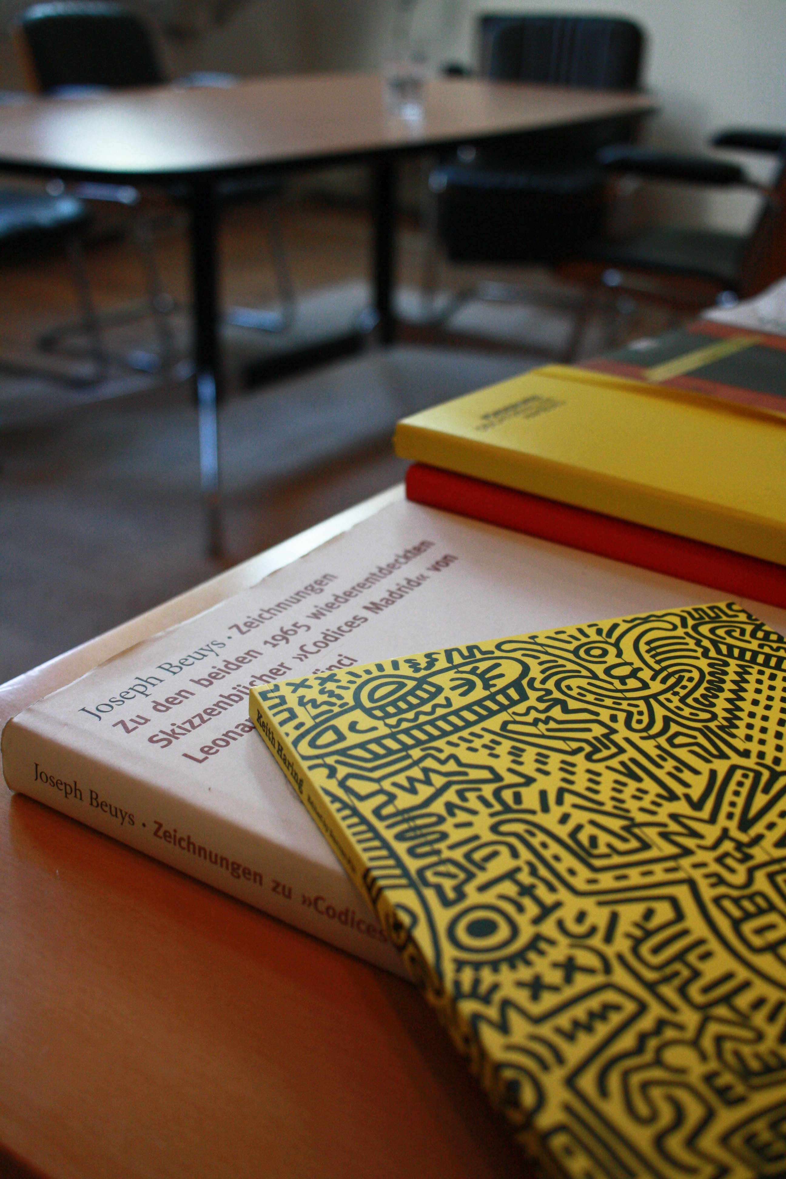 Haring and Beuys Art Books