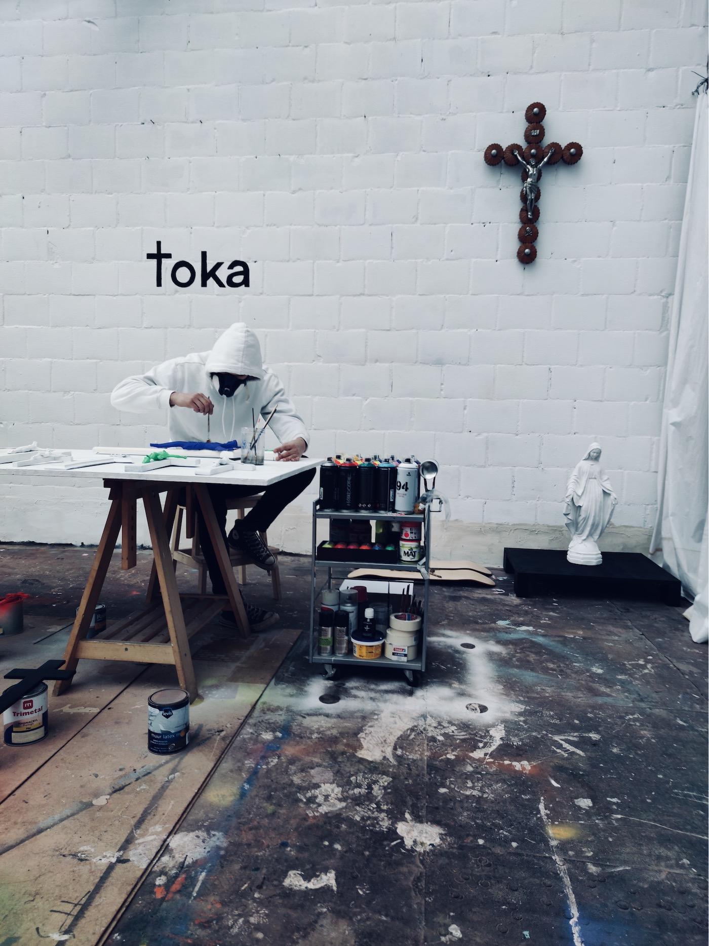 Toka at Affordable Art Fair Brussels 2020
