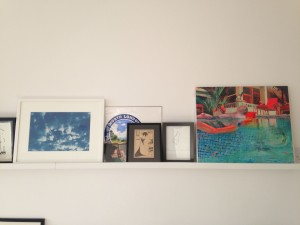 Luci Noel art collection. Ramona Czygan, Martin Grover and Lucinda Metcalfe.
