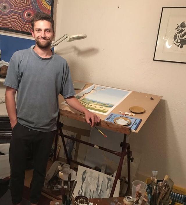James Mulcahy, artist