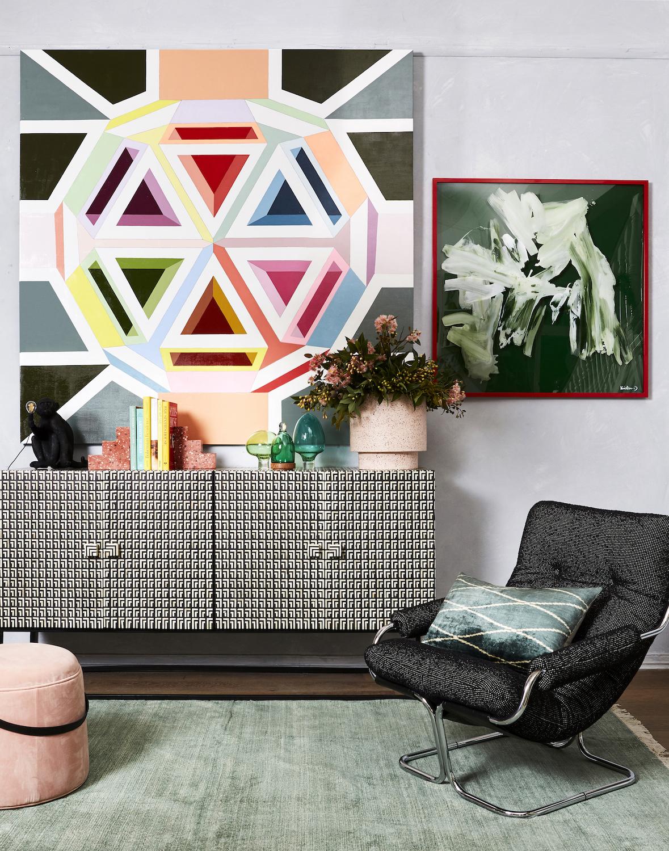 Jasmine Mansbridge's stunning paintings are an interior designers dream!
