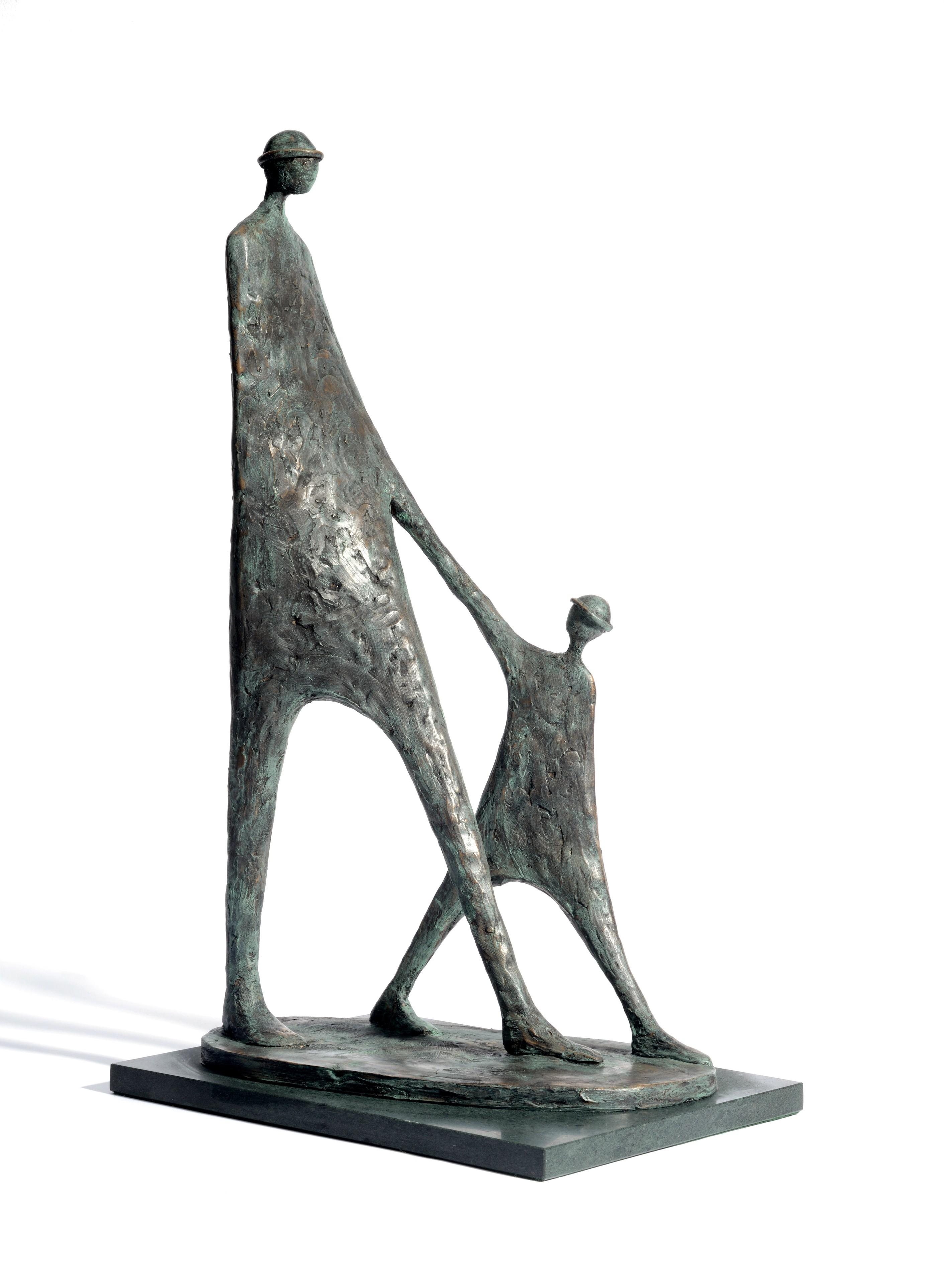 Jennifer Watt, The Walk, 2016, £850, bronze, limited edition of 25, ContemporArti