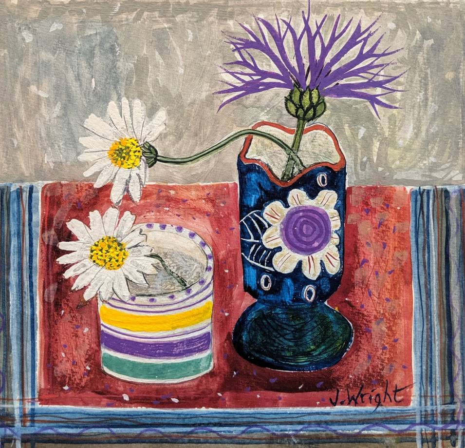 Joanna Wright, Marguerites, gifted to Sophie Robinson