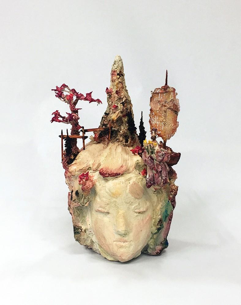 Kim Yunjae, Paradise #3, 2018, £1,500, HK$15,000, clay, original, Karin Weber Gallery