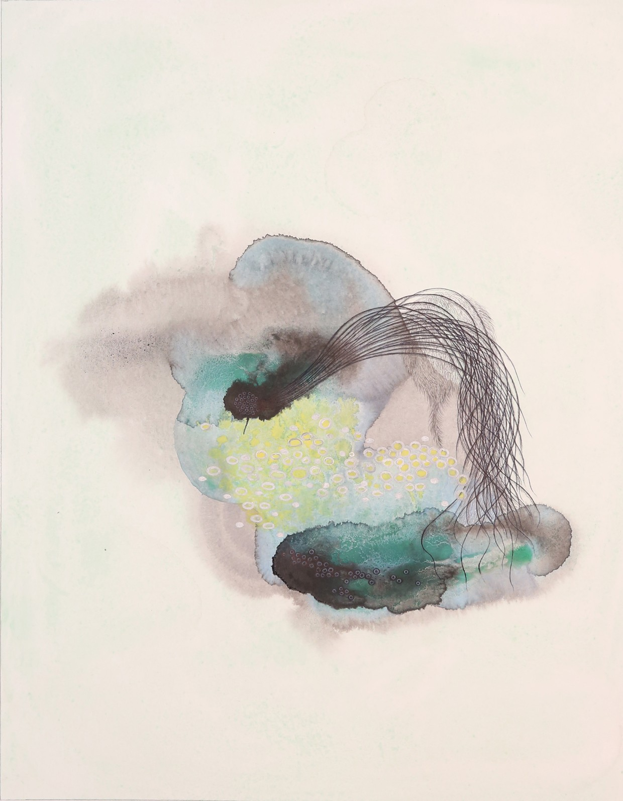 Mu Beini, Flower's Whisper IV, 2019, £200, lithograph, limited edition of 30, ArtChina