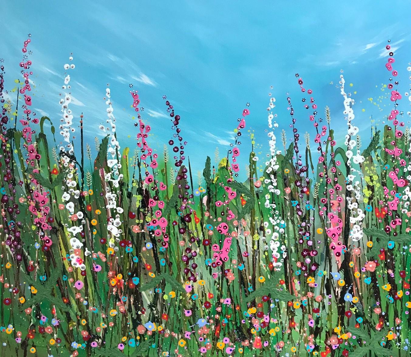 Nicky Chubb, Happy Dance I, 2020, £995, acrylic, original, The Art Agency