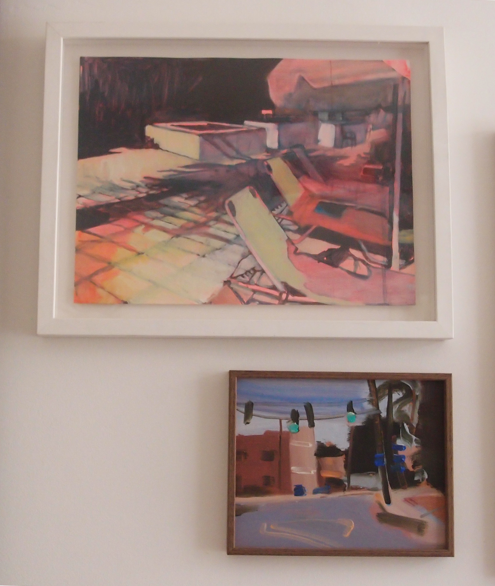 Sarah Barrett's collection, featuring artwork by Lucinda Metcalfe