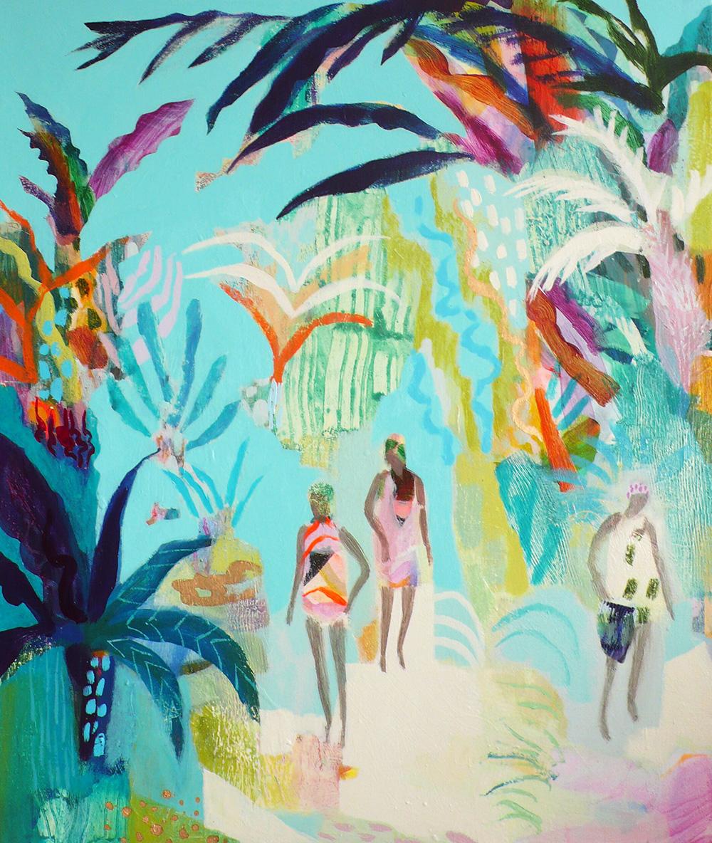 'Seaside Jungle', Becky Blair, FOUR-WALLS