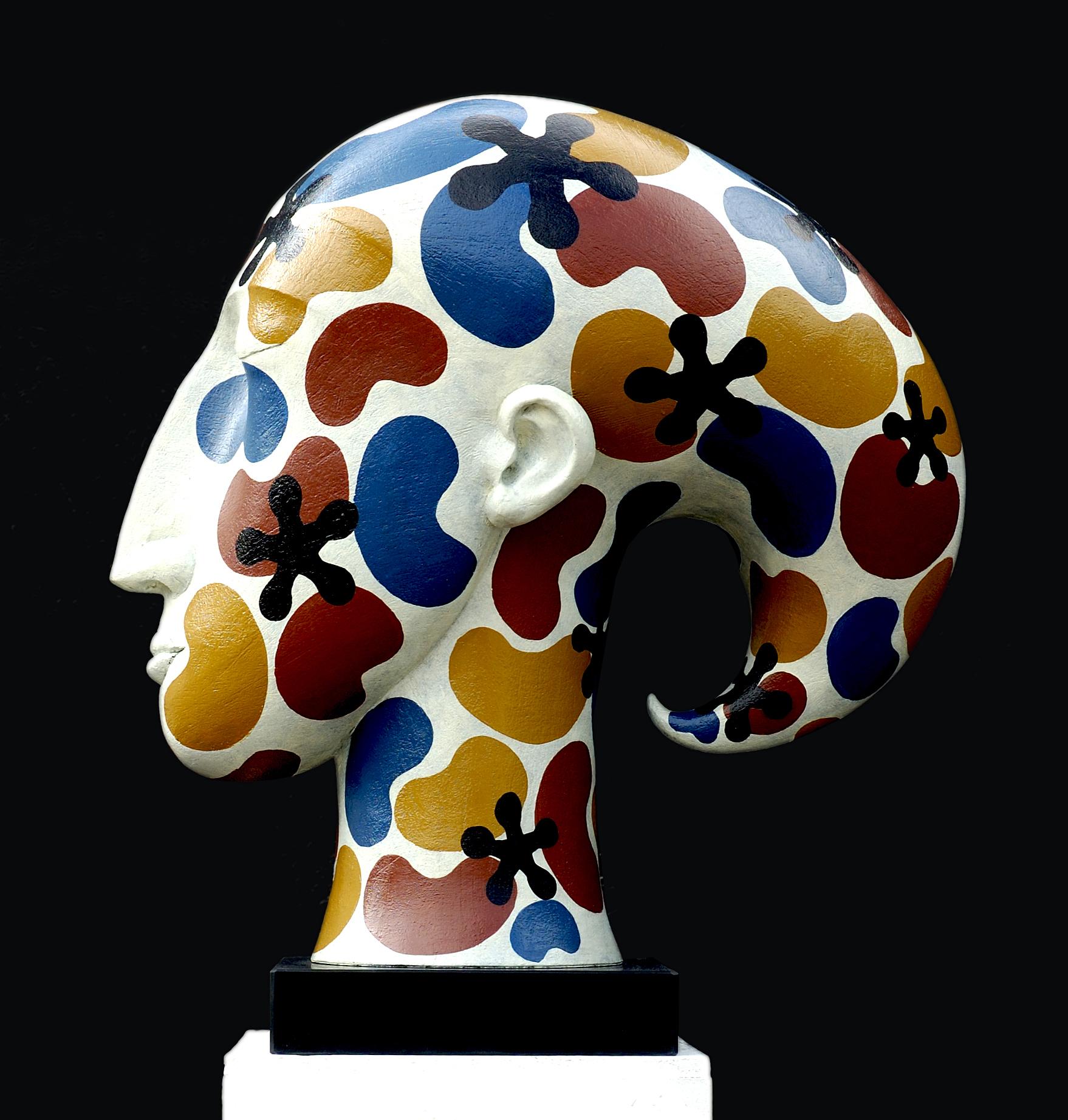 Patricia Volk FRBS, Trickster, Ceramic, 60 x 52 x 26cm