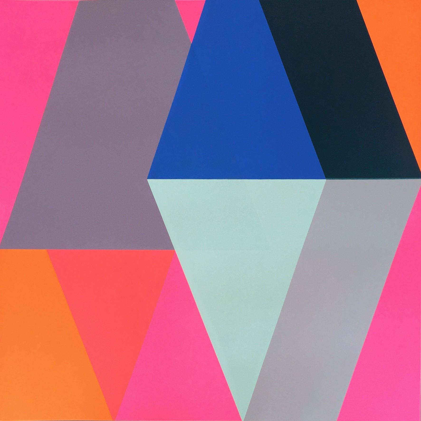 Smithson Gallery_Frea Buckler_Loyal 2_2020_Silkscreen print_60 x 60 cm_£650