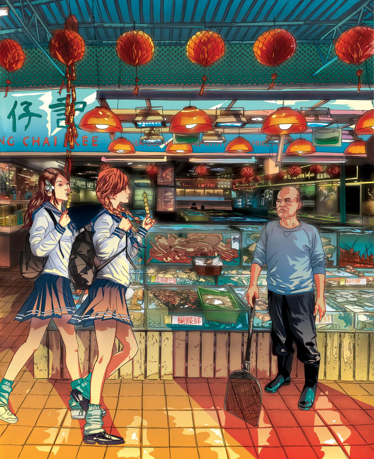 The Hong Kong Arts Collective, Jonathan Jay Lee, FishballGirls