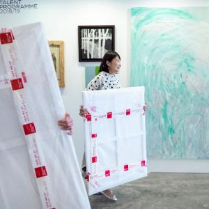 Art buyers at Affordable Art Fair Singapore