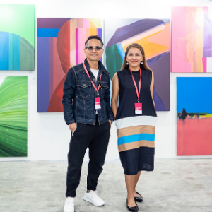 Gallerists at Affordable Art Fair Singapore