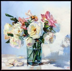 WAW Jonathan Pocock Glass of Roses