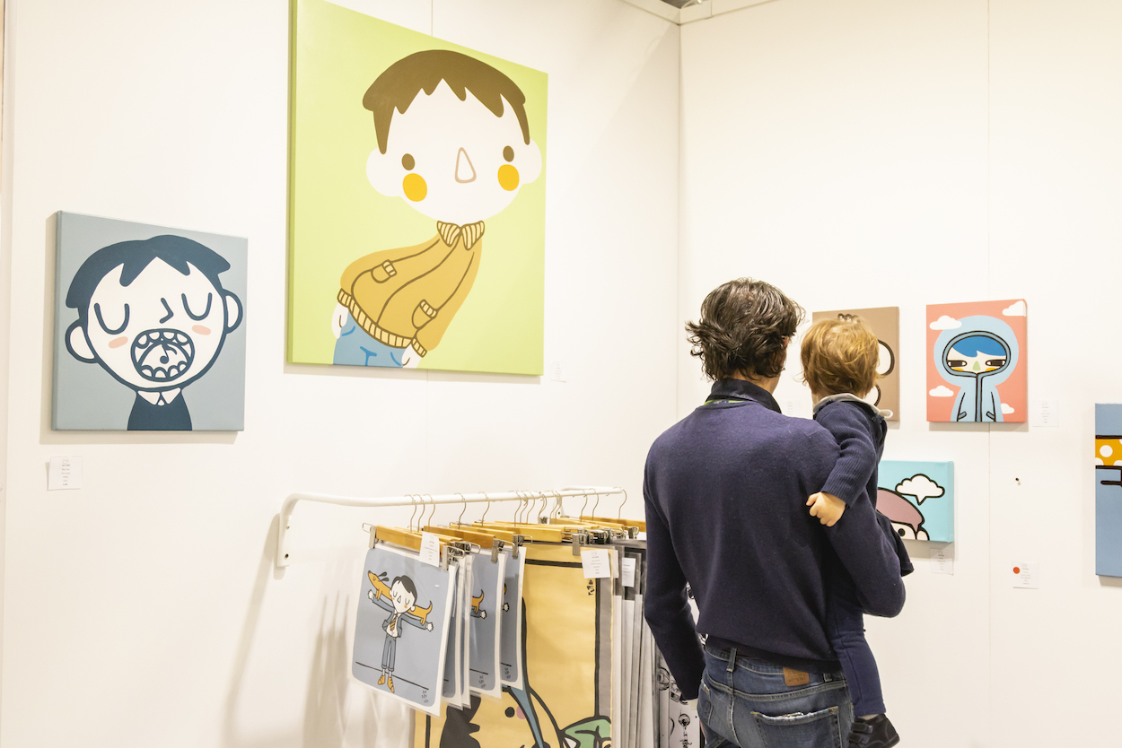 Bring your kids to Affordable Art Fair Milan