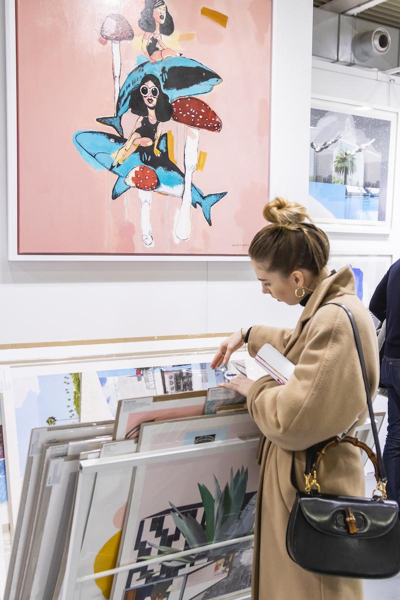 Personal shopping at Affordable Art Fair Milan