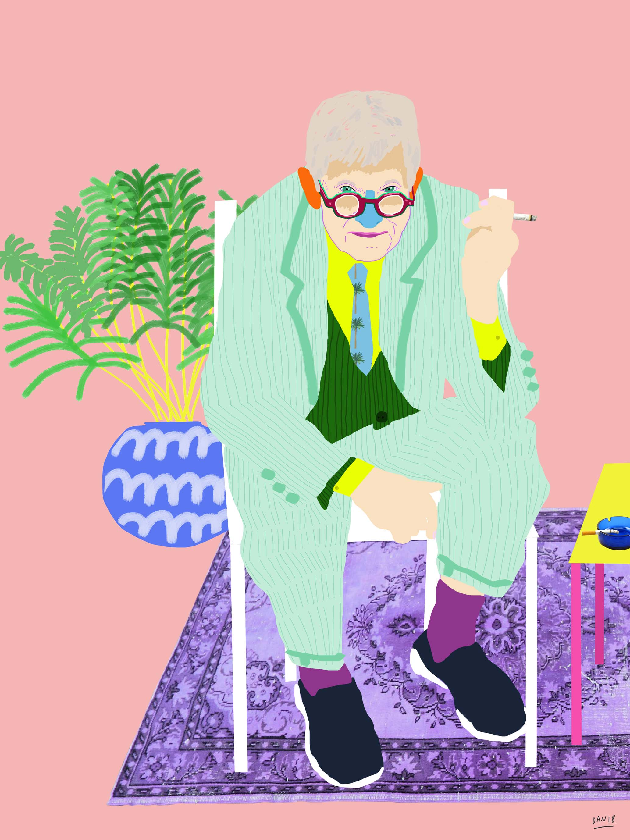 Dan Jamieson, Hockney Breather