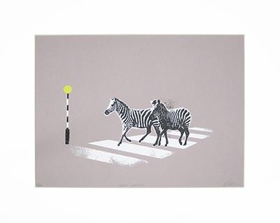 Zebra Crossing by Katie Edwards, £120