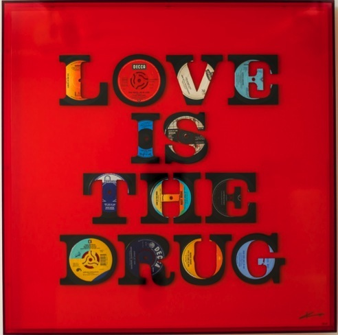 Keith Haynes, Love Is The Drug, £3,250, Liberty Gallery.